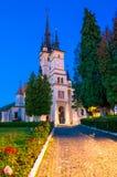Saint Nicholas Church, Brasov City, Transilvania stock image