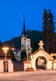 Saint Nicholas Church, Brasov City, Transilvania stock photography