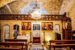Saint Nicholas Church de Sidon imagens de stock