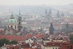 Saint Nicholas Church en Mala Strana à Prague, République Tchèque Photographie stock