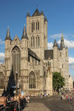 Saint Nicholas Church. Ghent. Belgium Stock Photos