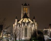 Saint Nicholas' Church in Ghent Stock Photography