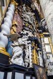 The Saint Nicholas' Church - interiour Stock Photography