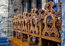 The Saint Nicholas' Church - interiour Royalty Free Stock Photography