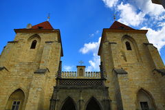 Saint Nicholas Church, Lesser Town, Prague, Czech republic Royalty Free Stock Images