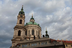 Saint Nicholas' Church at Mala Strana in Prague, Czech Republic Royalty Free Stock Photography