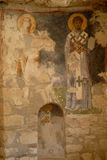 Saint Nicholas Church (Myra) - fresco Stock Image