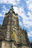 Saint Nicholas Church na praça da cidade velha em Praga, Checo Republ Fotos de Stock