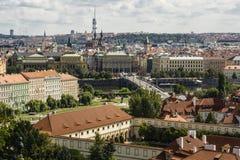 Saint Nicholas Church na praça da cidade velha em Praga, Checo Republ Imagem de Stock Royalty Free