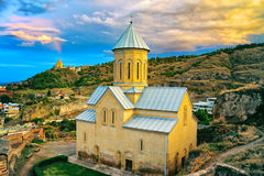 Saint Nicholas church in Narikala fortress Stock Photos