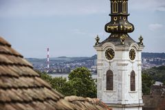 Saint Nicholas church in the old part of Zemun royalty free stock photos