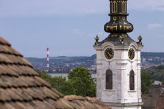 Saint Nicholas church in the old part of Zemun,Serbia Royalty Free Stock Photography