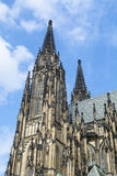 Saint Nicholas Church in Old Town Square in Prague, Czech Republ Royalty Free Stock Image