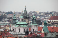 Saint Nicholas Church in Old Town Square in Prague, Czech Republ Royalty Free Stock Photography