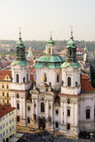 Saint Nicholas Church in Prague Royalty Free Stock Photo