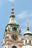 Saint Nicholas church at Prague Royalty Free Stock Image