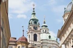 Saint Nicholas church at Prague Stock Images