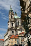 Saint Nicholas church_Prague Stock Photography