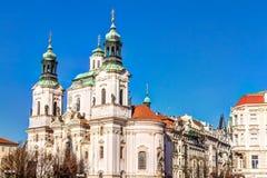 Saint Nicholas church in Prague Royalty Free Stock Image