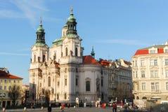 Saint Nicholas Church - Prague, République Tchèque Photo libre de droits