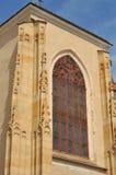Saint Nicholas church. Presov wall and window of Saint Nicholas church Royalty Free Stock Photography