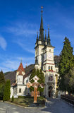 St. Nicholas Church in Schei, Brasov, Romania Royalty Free Stock Images