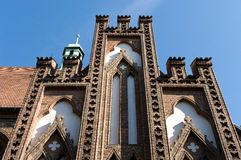 Saint Nicholas church in Spandau Stock Photography