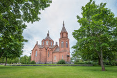 Saint Nicholas Church in Vaasa Royalty Free Stock Photo