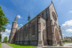 Saint Nicholas Church in Zarnow Stock Photography