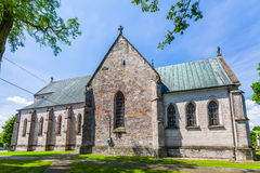 Saint Nicholas Church in Zarnow Royalty Free Stock Images