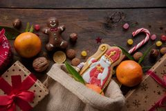 Free Saint Nicholas Cookies Stock Photo - 150966880