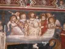 Saint Nicholas de Christ e de bebê Imagem de Stock Royalty Free