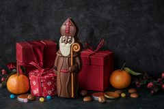 Free Saint Nicholas Gift Royalty Free Stock Images - 163675759