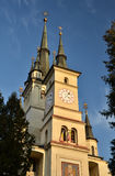 Saint Nicholas orthodox Church in Brasov, Romania Royalty Free Stock Photography