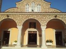 Saint Nicholas Orthodox Church, Parga, Grécia Fotografia de Stock Royalty Free