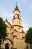 Saint Nicholas Orthodox Church in Vilnius, Lithuania Stock Photography