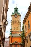 Saint Nicholas (Storkyrkan) Bell Tower, Stockholm Royalty Free Stock Photos