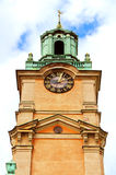 Saint Nicholas (Storkyrkan) Bell Tower, Stockholm Stock Photography