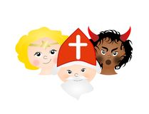 Saint Nicholas Royalty Free Stock Image