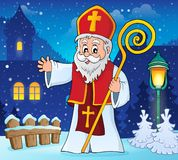 Saint Nicholas topic image 2. Eps10 vector illustration vector illustration