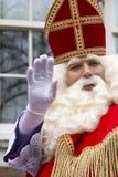 Saint Nicholas waving Royalty Free Stock Photography
