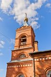 Saint Nicholas the Wonderworker church (1904). New Miletus, Russi Royalty Free Stock Images