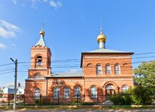 Saint Nicholas the Wonderworker church (1904). New Miletus, Russi Stock Image