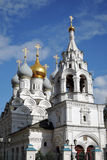 Saint Nicolas cathedral on Bolshaya Ordynka street in Moscow. Popular landmark. Royalty Free Stock Images