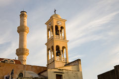 Saint Nicolas Church, Chania, Creta Fotografia de Stock