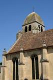 Saint Nicolas church of Guiry en Vexin Stock Photography