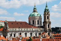 Saint Nicolas church in Prague Stock Photography