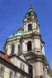 The Saint Nicolas church, Prague, Czech Republic Stock Photography