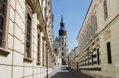Saint Nicolas church in Trnava Royalty Free Stock Image