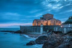 Saint-Nicolas priory Les Sables d`Olonne, France Stock Photography